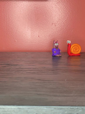 Rough draft stop motion video