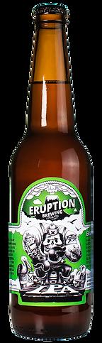 Eruption IPA Craft Beer by Eruption Brewing Lyttelton