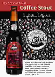 Eruption Brewing  Coffee Stout