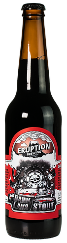 Dark Lava Stout by Eruption Brewing Lyttelton