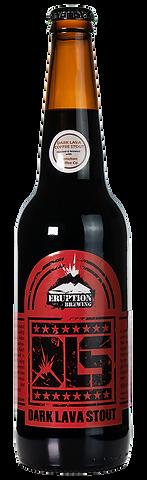 Dark Lava Coffee Stout by Eruption Brewing Lyttelton