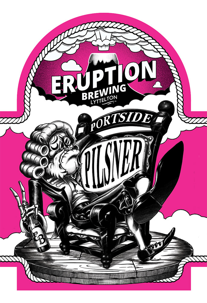 Eruption Brewing Portside Pilsner