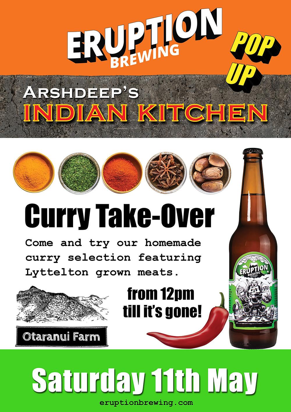 Eruption Indian Kitchen Pop-Up