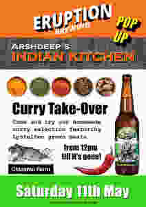 Eruption Indian Kitchen Pop-Up