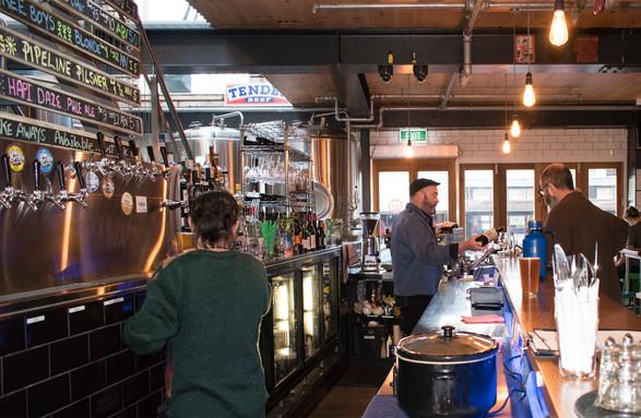 Eruption Brewing Craft Beer Tap Room, Lyttelton