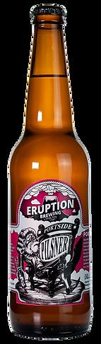 Portside Pilsner by Eruption Brewing Lyttelton