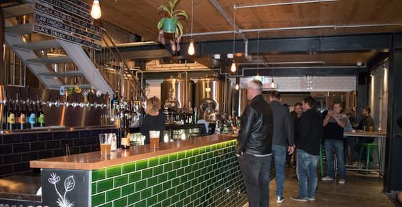 Eruption Craft Brewery Bar & Restaurant, Lyttelton Christchurch