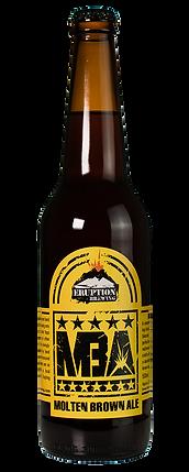 Molten Brown Ale by Eruption Brewing Lyttelton