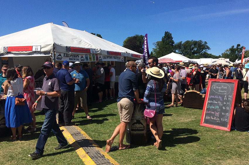 Eruption Brewing at Great Kiwi Beer Festival 2018