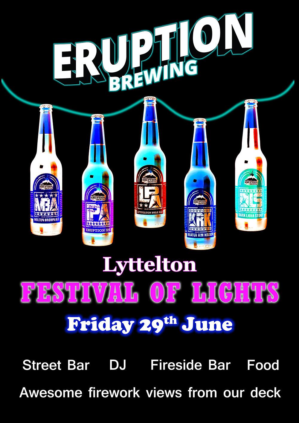 Eruption Brewing Lyttelton