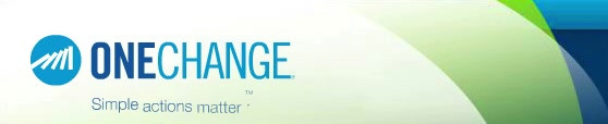 One Change banner