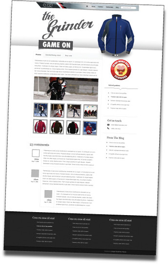 ODR Product page