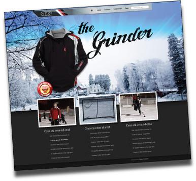 ODR web splash page