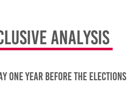 What the polls say one year before the elections