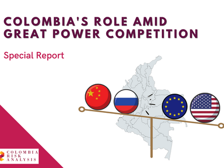 Colombia's role amid great power competition