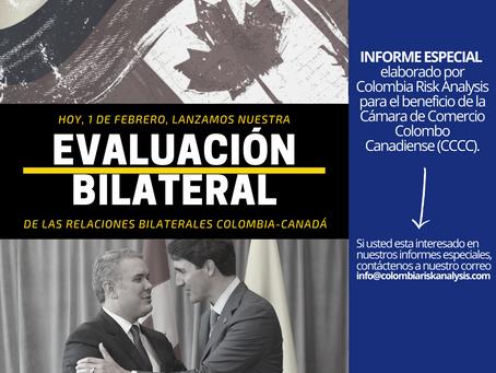 EVALUACIÓN BILATERAL DE LAS RELACIONES ENTRE COLOMBIA Y CANADÁ