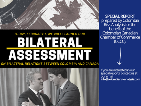 BILATERAL ASSESSMENT OF COLOMBIA AND CANADA RELATIONSHIPS