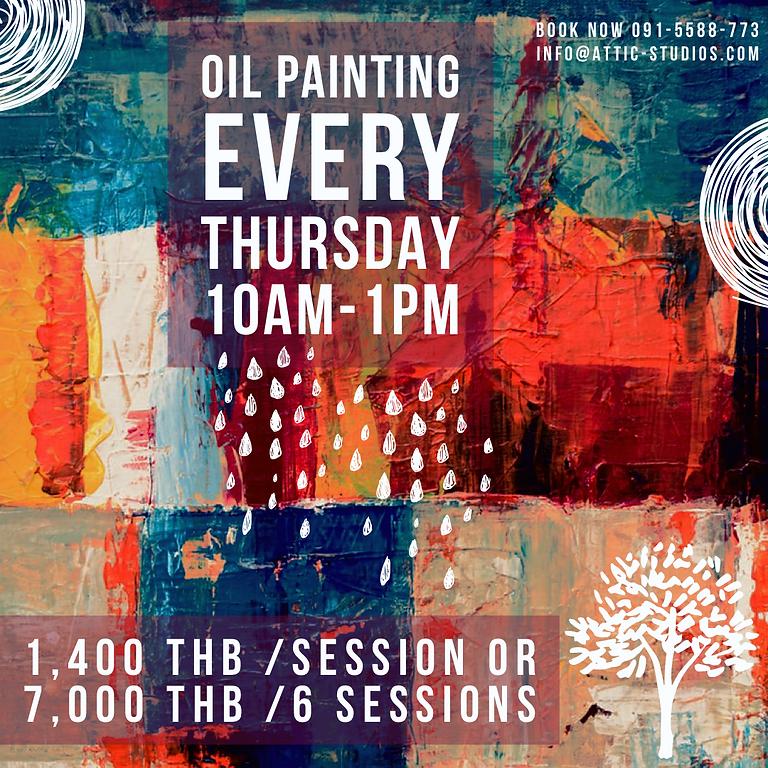 Thursday - Oil Painting