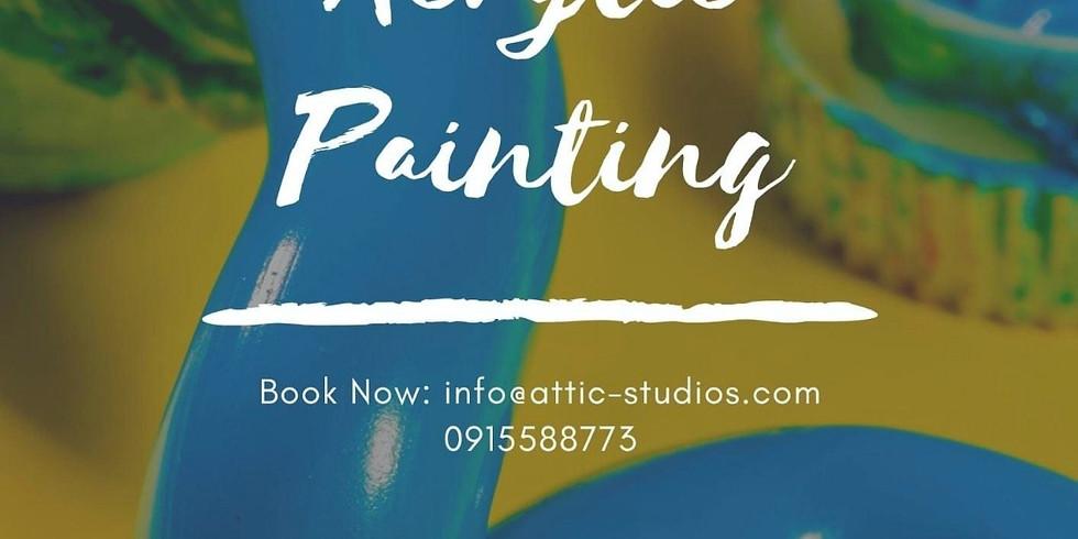 Tuesday Acrylic Painting