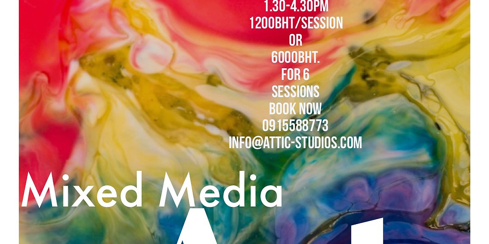 Saturday - Mixed Media Art