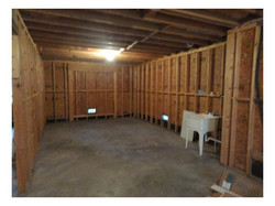 First level - storage area