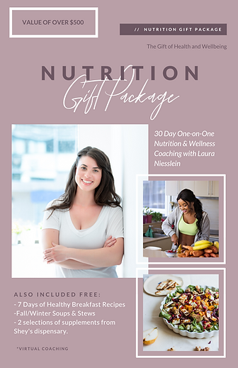 One-on-One Nutrition Gift Package