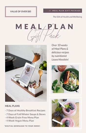Meal Plan Gift Package