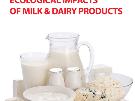 Ecological impacts of milk & dairy products
