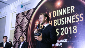 CEL Consulting won the Entrepreneur Award at French Business Awards 2018