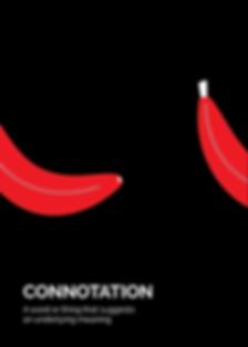 Connotation Semiotic Flashcard