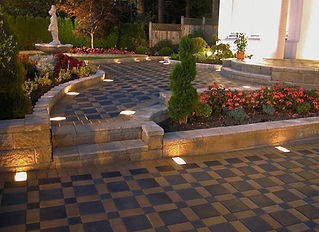 Patio Stones, Paving, Walls, Interlocking Lighting