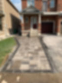 Driveway extensions around Burlington, Milton, Oakville, Brampton, Mississauga and Etobicoke