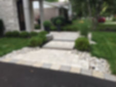 Brick Interlocking Steps, Oakville steps, mississauga steps, retaining walls, toronto steps, stone work, landscaping