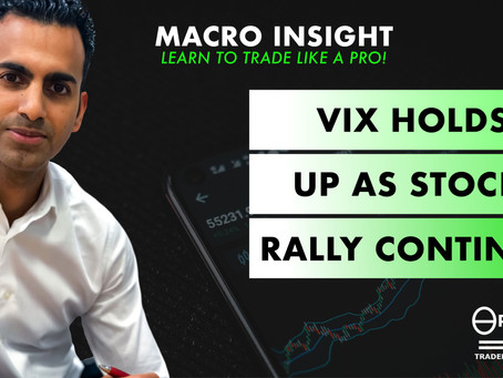 VIX holds up as stocks rally continues