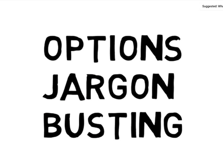 Options Jargon Busting