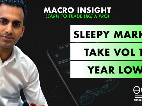Sleepy markets take VOL to year lows