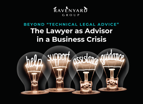 Advising Clients During a Business Crisis: CLE Presentation