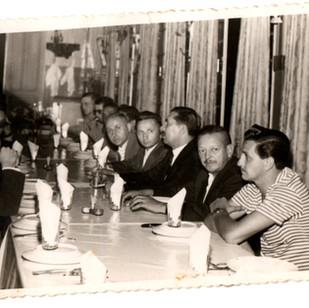 Jantar no Cascatinha Antigo