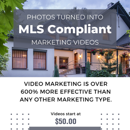 Turn pictures of your clients home into beautiful videos.