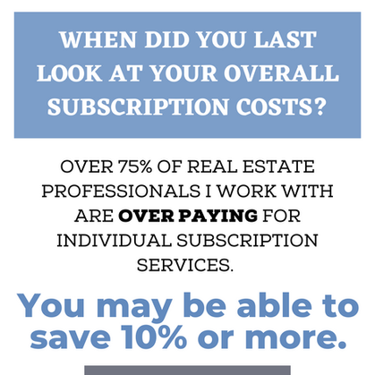 Stop overpaying and under-using!