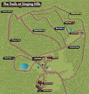 Singing Hills Trail Map