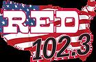 red 1023.com radio station logo.png