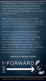 Christopher Walden Pay It Forward Card F