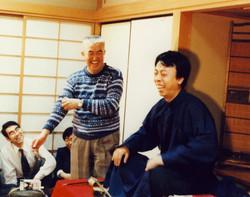 二胡奏者楊興新、永六輔さんと漫才