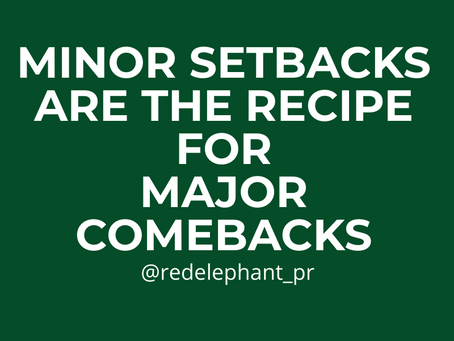 Minor Setbacks Are Necessary for Growth