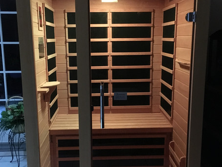 Relax this Holiday Season with an In-Home Sauna!