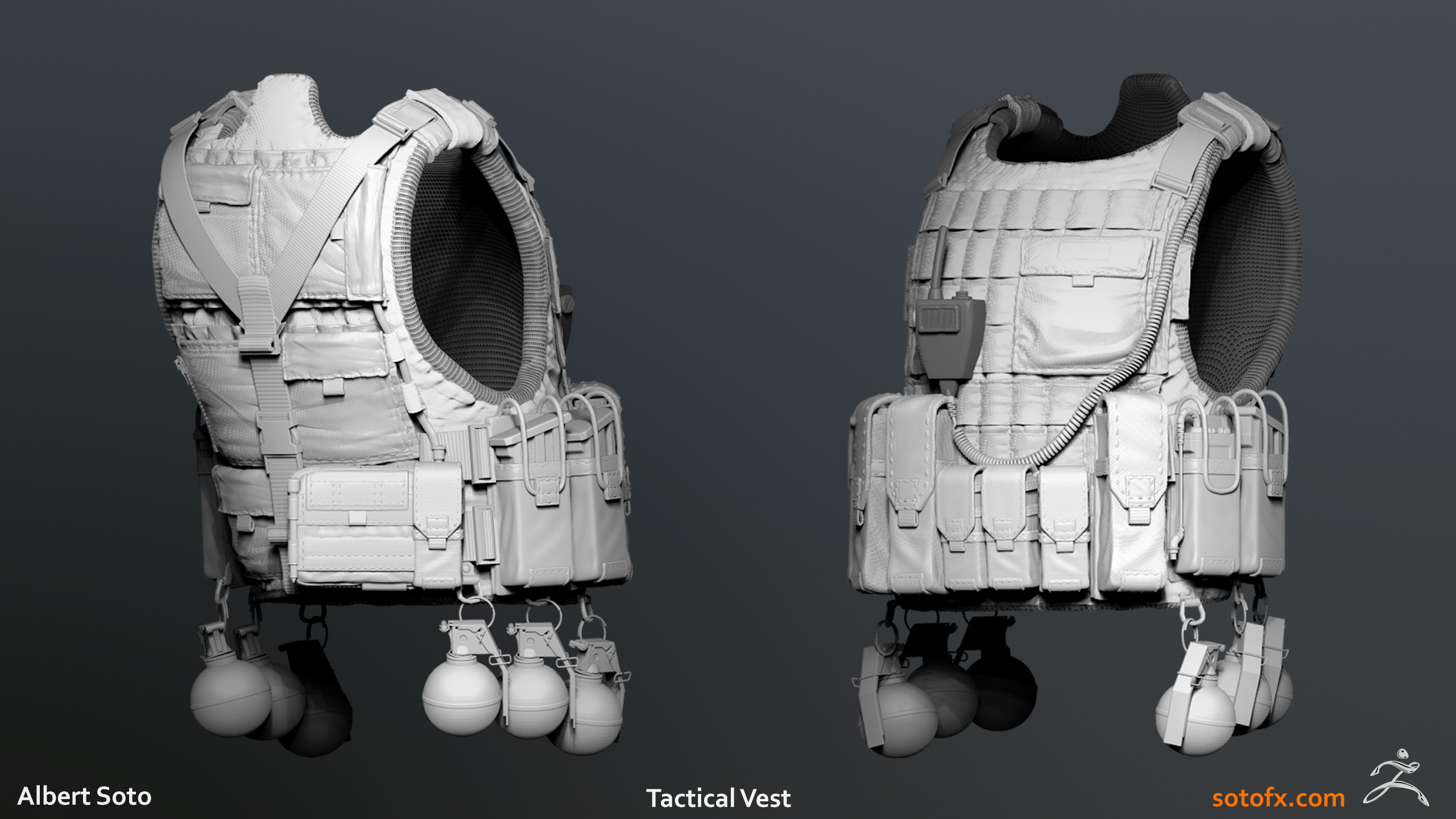 Tactical Vest Sculpt