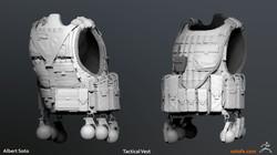 Tactical Vest Sculpt