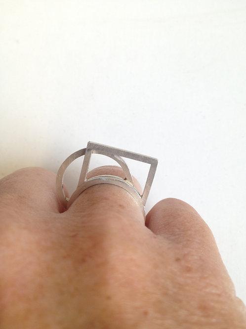 Ring 'architect' rechthoek
