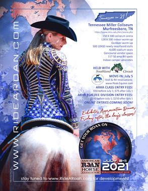 2021 ARHA World Show Flier
